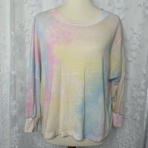 WildFox Dream Tie Dye Nevada Sweater
